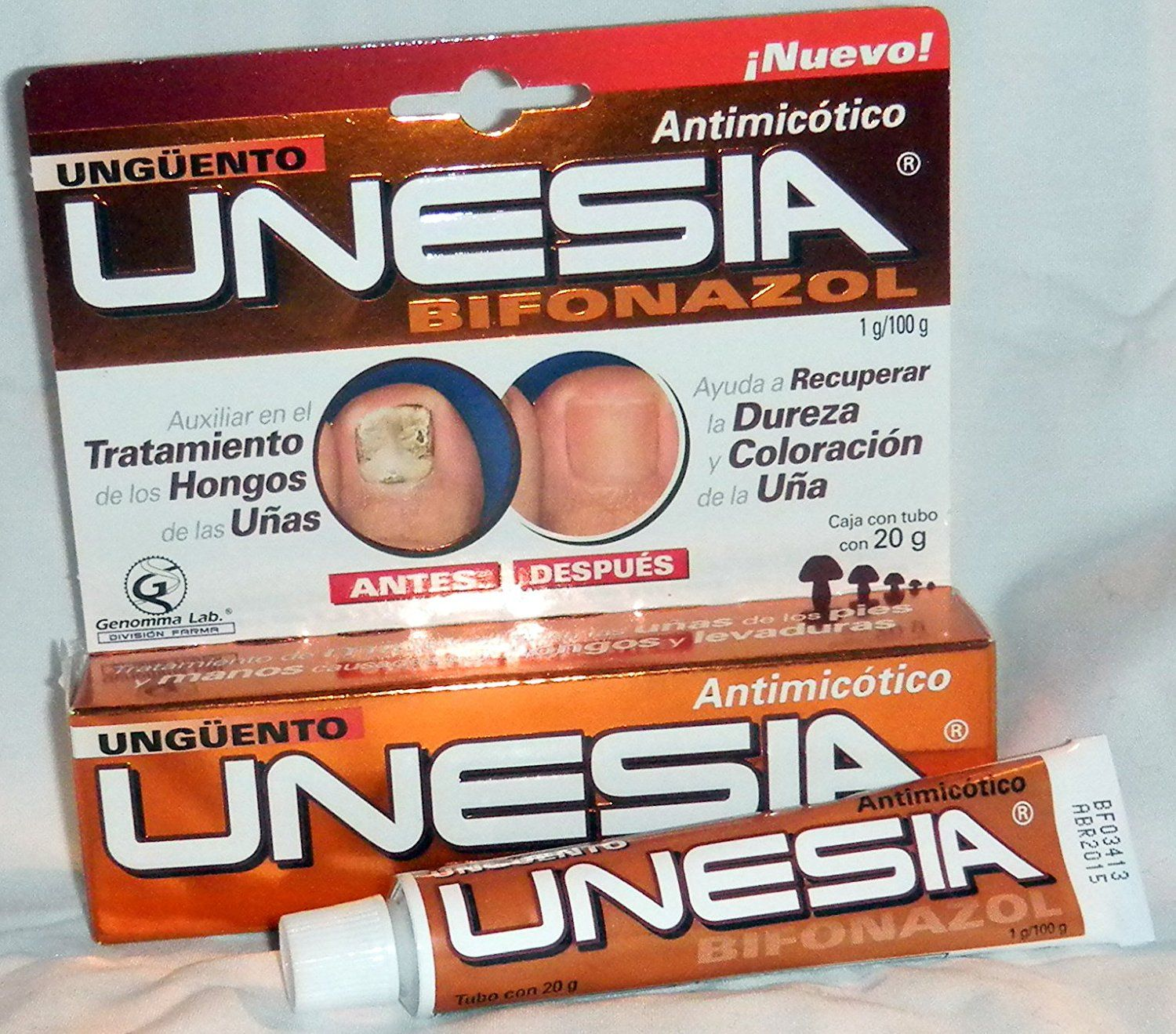 Unesia Bifonazol Fungus Treatment Cream To Aids Toe Nails 20g Tube -- Hurry! Check out this great product : Skin care