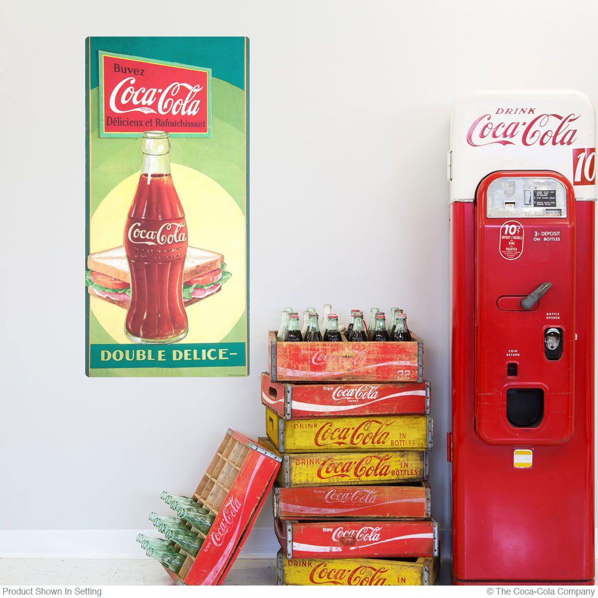 Pin On Retro Coca Cola Decor