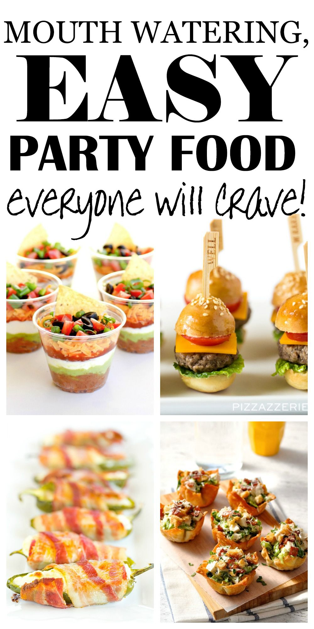 Appetizer recipes easy crowd size