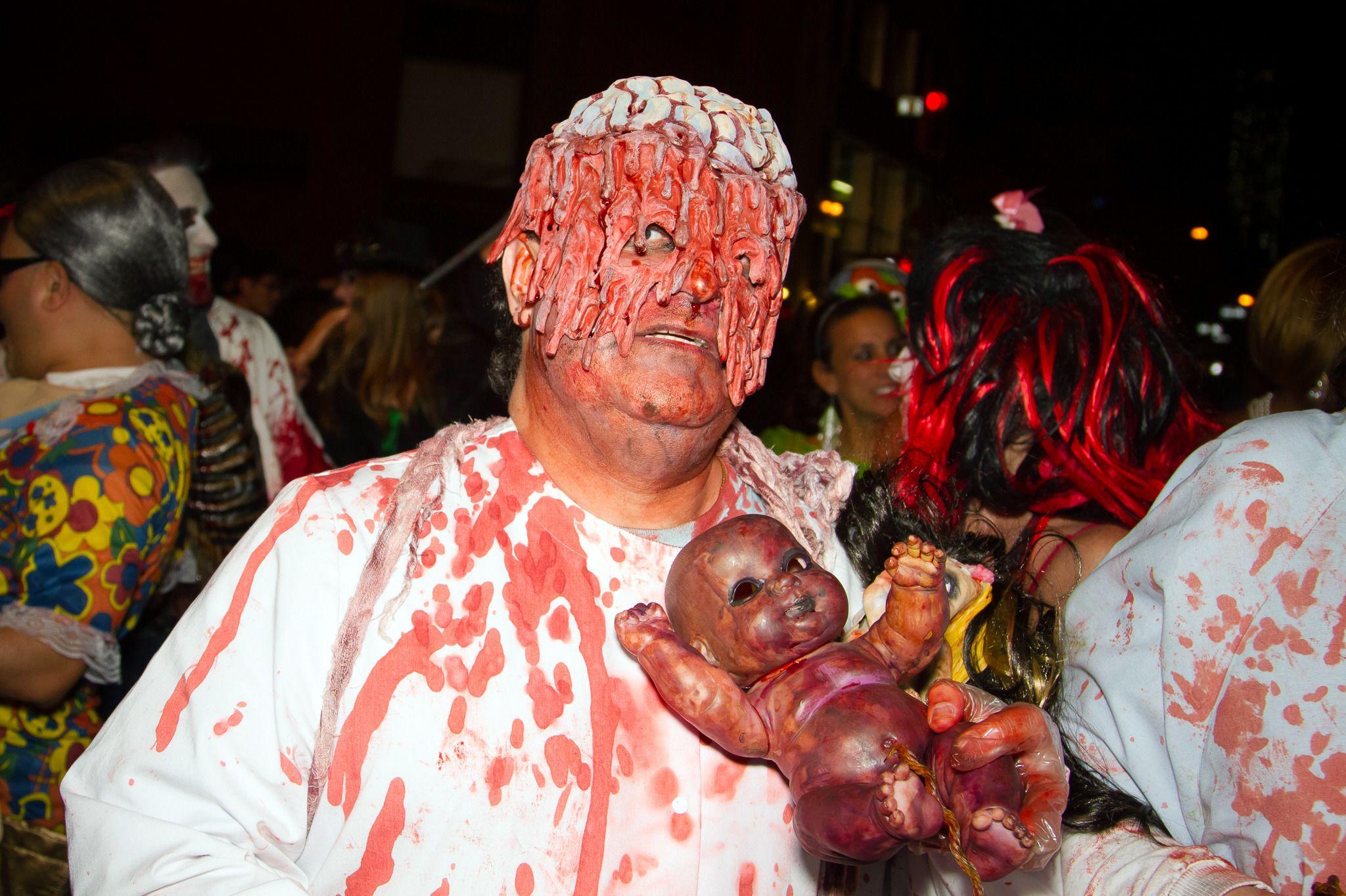 baby eating monster