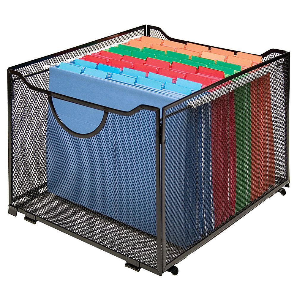 Innovative Storage Designs Mesh Collapsible Crate, 10 7/16\