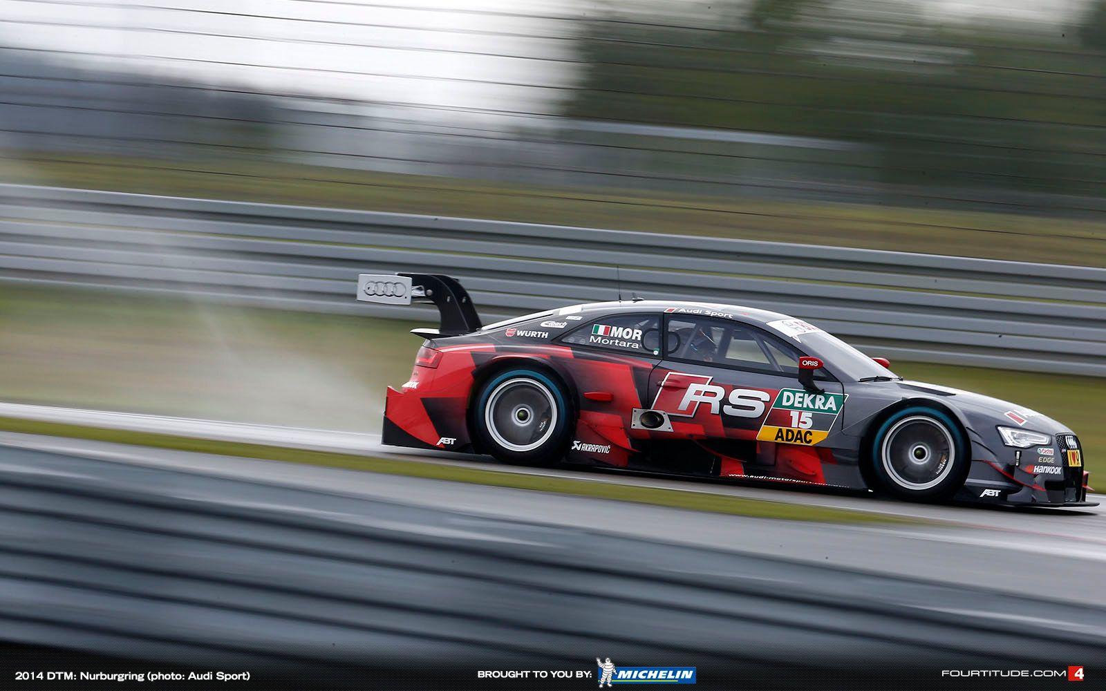 DTM: Audi Banks on Strong Teamwork at Lausitz - Fourtitude.com