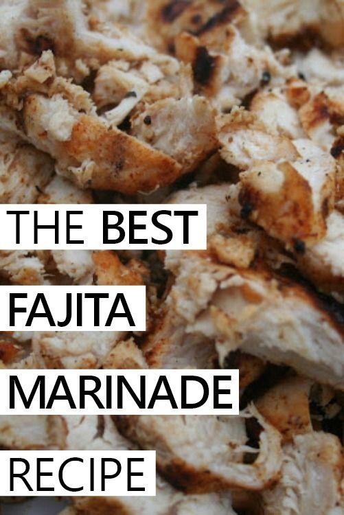 The Best Fajita Marinade Recipe