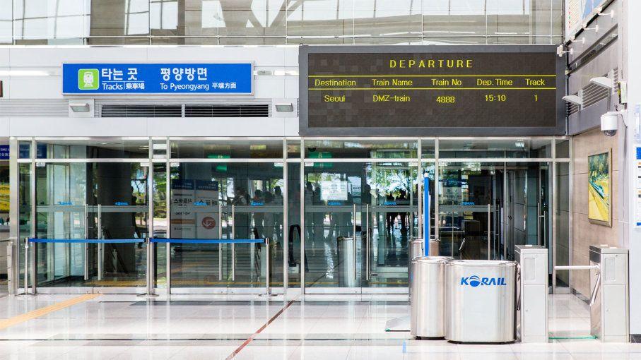 Icymi Ghost Train Station Is Symbolic Hope Of Korean