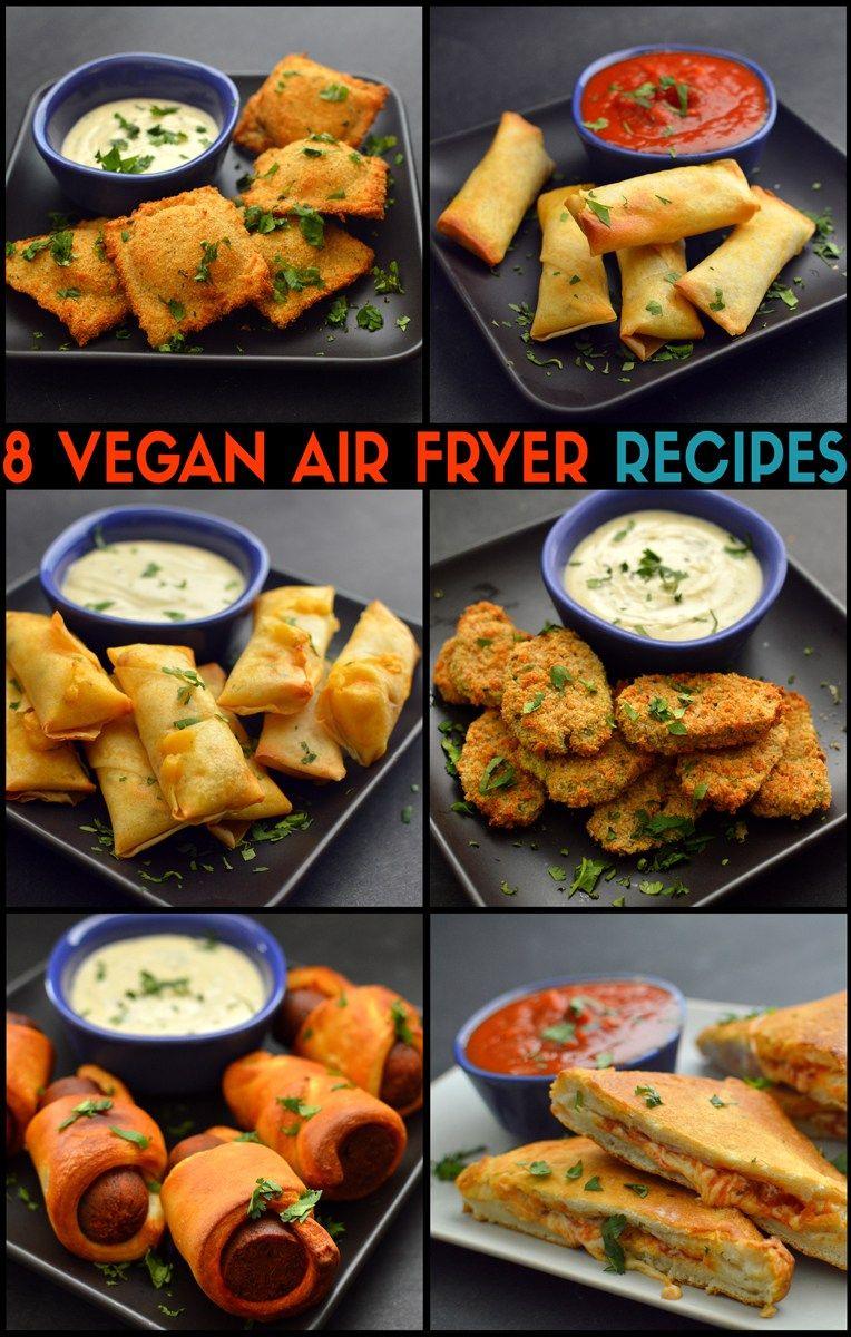 Vegan Air Fryer Recipes Onion Rings Blooming Onion Loaded