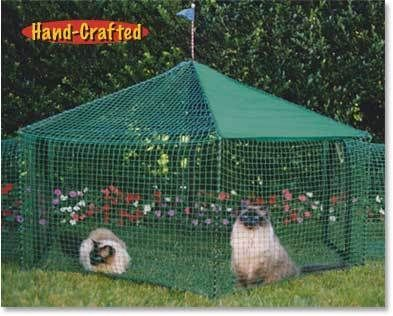 Kittywalk 174 Gazebo Cat Enclosure New Outdoor Cat