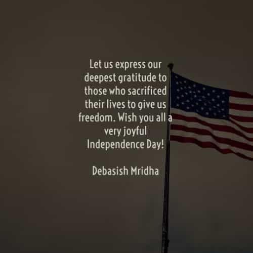 46 Independence day quotes that will inspire you positively