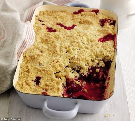 Mary Berry Special Plum Crumble Plum Recipes Plum Crumble Recipes Crumble Recipe