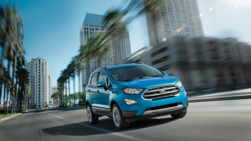 The All New Ford Ecosport Can Be Customized In 10 Different Colors