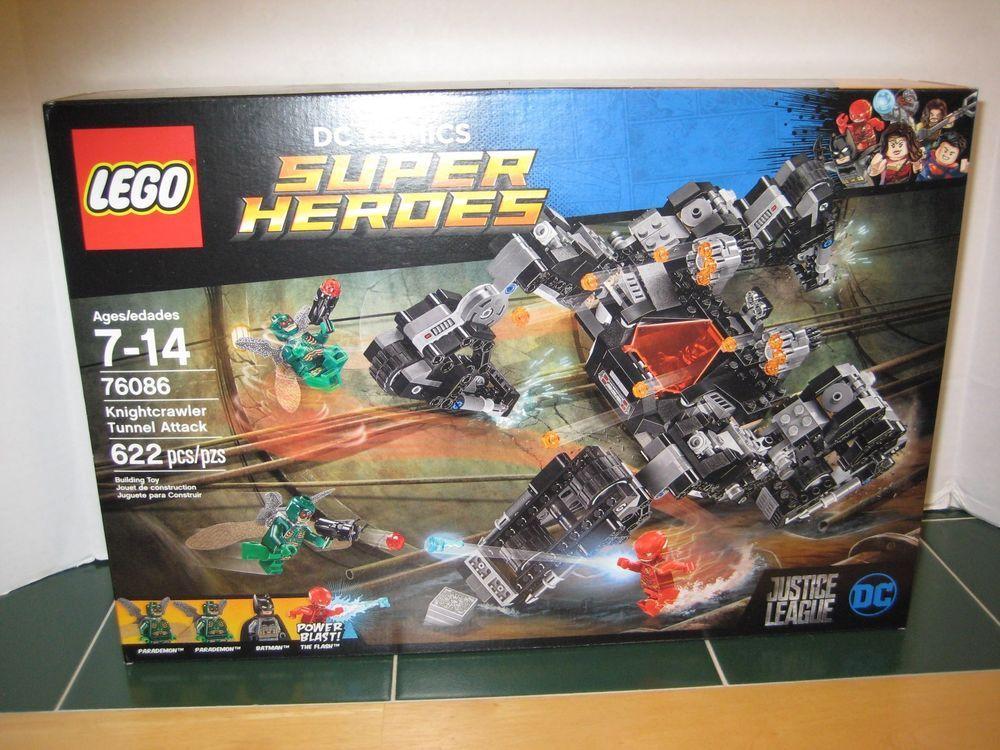 Lego Knightcrawler Tunnel Attack  76086 DC Comics Super Heroes Justice  League 7f3c53f636
