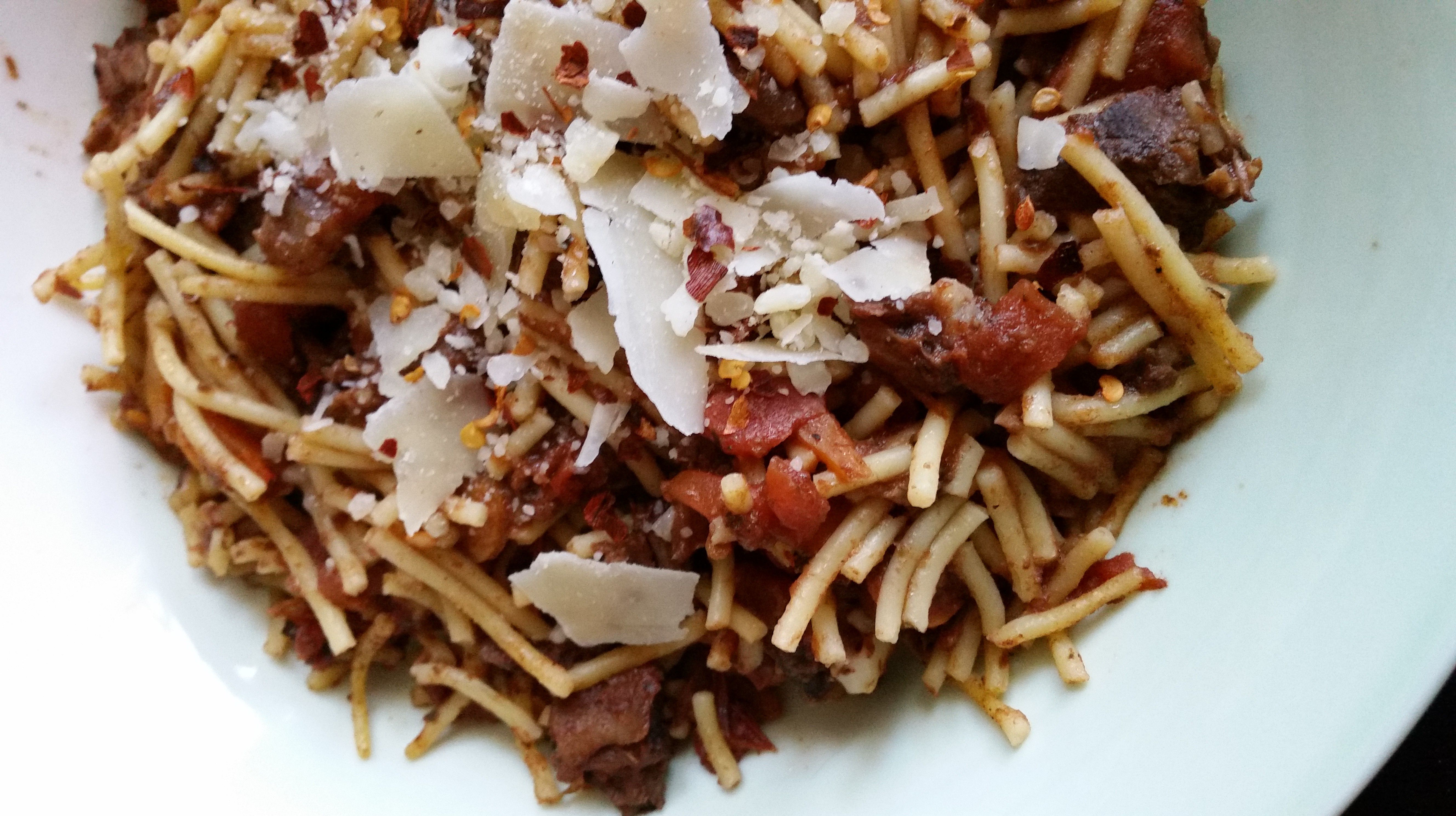 Beef and Carrot Ragu (from the slow cooker)