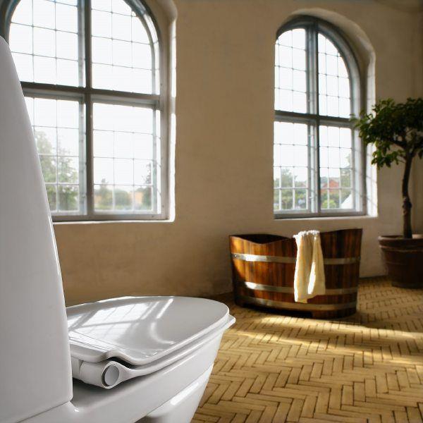 Nordic Bathroomdesign: Pressalit Sign Art Is Nordic In Its Design. The Toilet