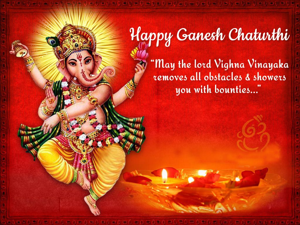 Hd wallpaper ganesh - Happy Ganesh Chaturthi Hd Wallpaper