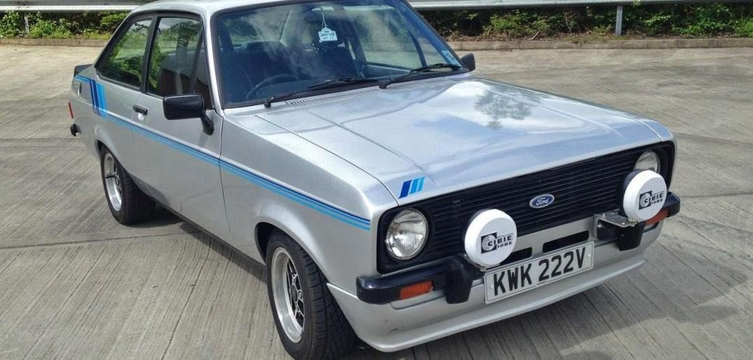 FOR SALE – MK2 FORD ESCORT HARRIER VIEW EBAY AD >> http://ebay.to ...