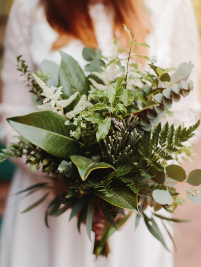 Zielony Bukiet Slubny Wedding Flowers Greenery Green Wedding Flowers Fern Wedding