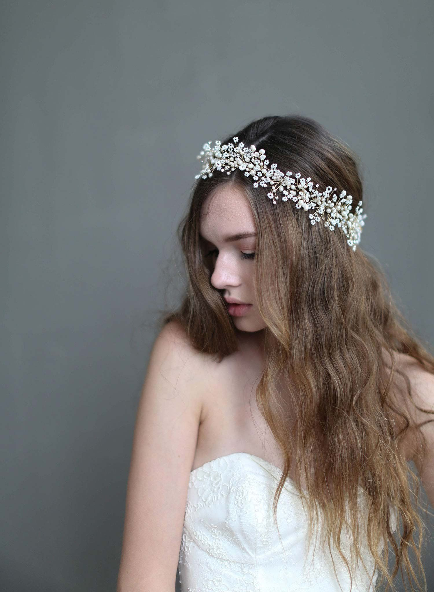 Bridal hair accessories babys breath - Bridal Hair Accessories Babys Breath 2