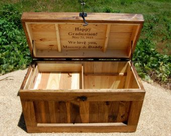 Turquoise Hope Chest Toy Box Reclaimed By