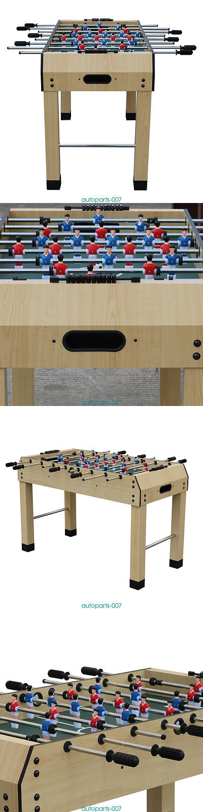 Foosball 36276: 4Ft Foosball Table Football Player Family Table Game Kids  Gift Home Sport