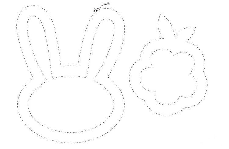 Fensterbild Vorlagen Fur Hase Und Blume Ostern Basteln Mit Kindern Osternest Basteln Fensterbild Ostern