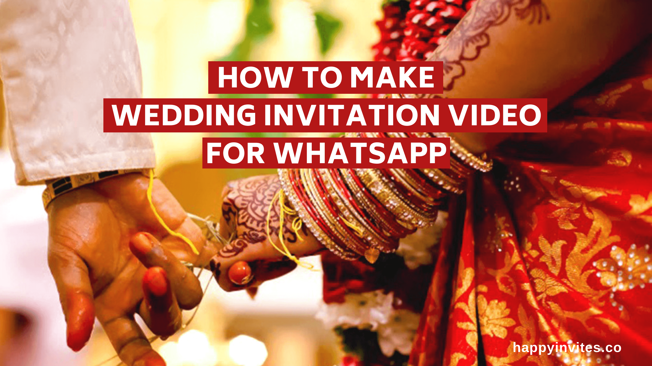 How To Make Wedding Invitation Video For Whatsapp Wedding Invitation Video Wedding Invitations Destination Wedding Save The Dates
