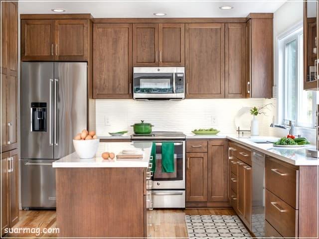 اروع واجمل صور مطابخ خشب 2020 لن تراها فى اى مكان اخر مجلة صور Wood Kitchen Cabinets Modern Kitchen Flooring Custom Kitchen Remodel