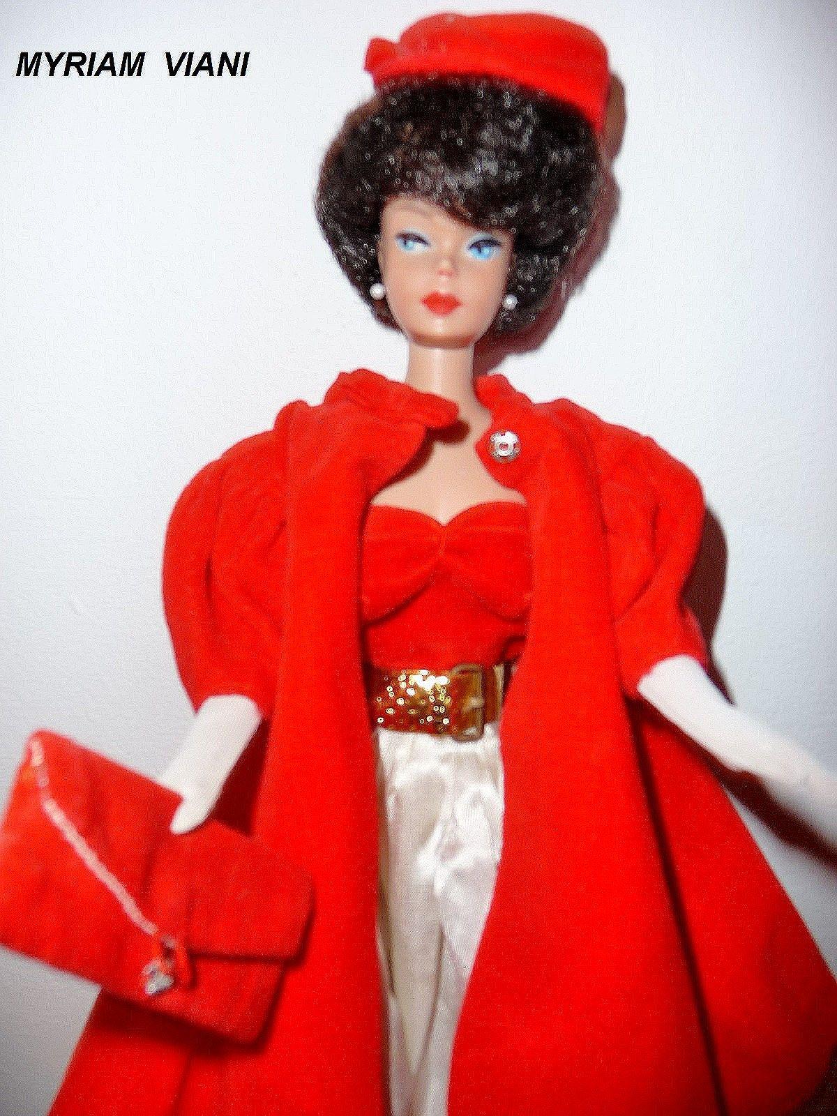 Barbie Silken Flame 977 1960 1961 Vintage Barbie Dolls