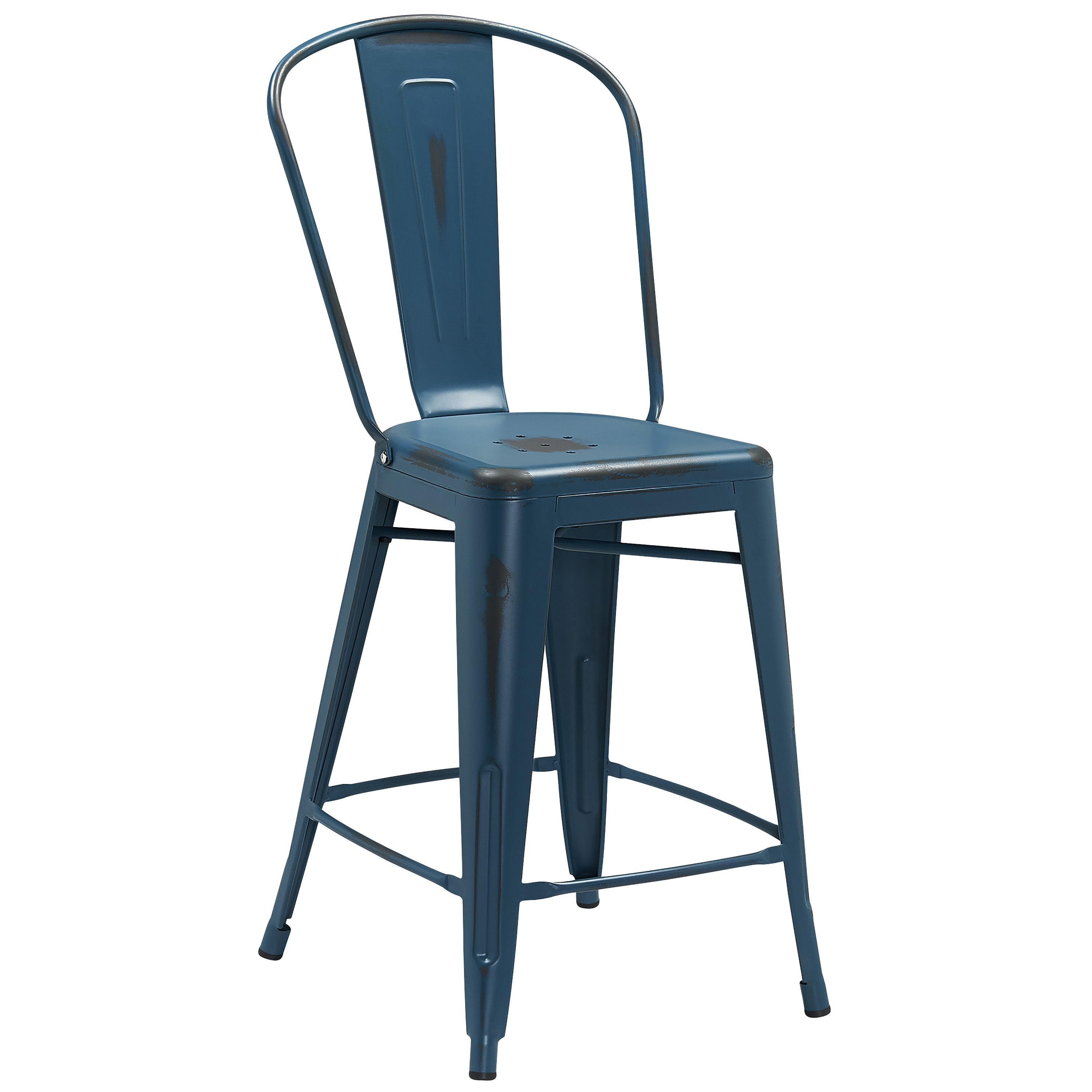 Features: -Curved back with vertical slat. -Drain hole in seat ...