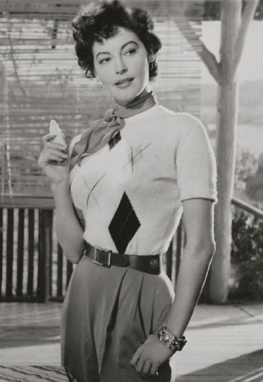 Ava Gardner Casual Outfit Google Search Ava Gardner Movie