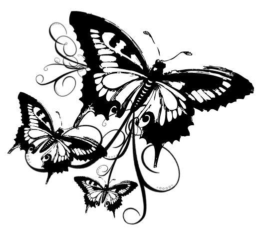 Plantillas Tattoo Mariposas Tattoos 32dll Se Pinterest