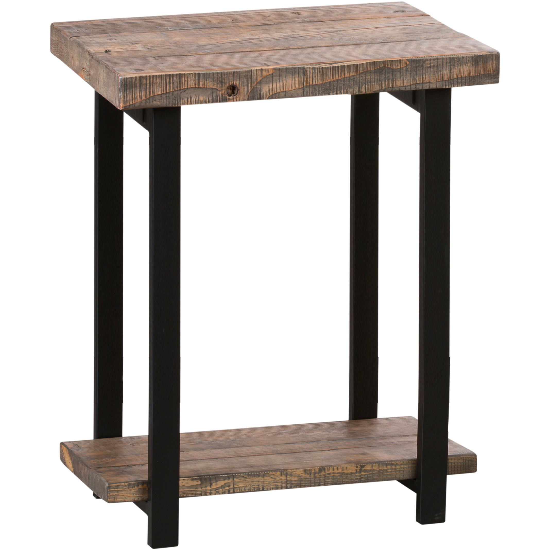 Somers End Table   Metals, Woods and Room decor