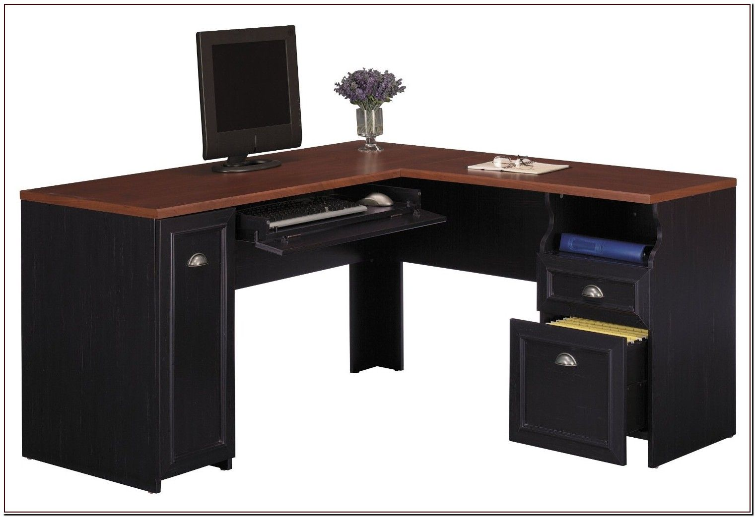 58 Reference Of Black Chair Desk In 2020 L Shaped Desk Small Office Furniture L Shaped Office Desk