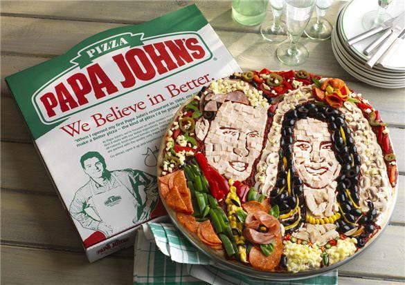 Papa John S Launches Prince William And Kate Middleton Pizza Pizza Wedding Wedding Humor Pizza Wedding Cake