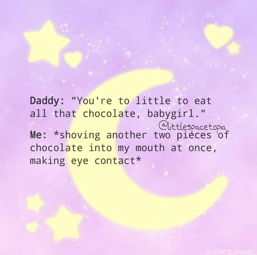 """33 Likes, 1 Comments - daddy's ♡ fluffcake (@littlespacetopia) on Instagram: """"I want daddy to make a ddlg account but he won't *sadface* ♡ ♡ ♡Self care checklist♡ • take your…"""""""