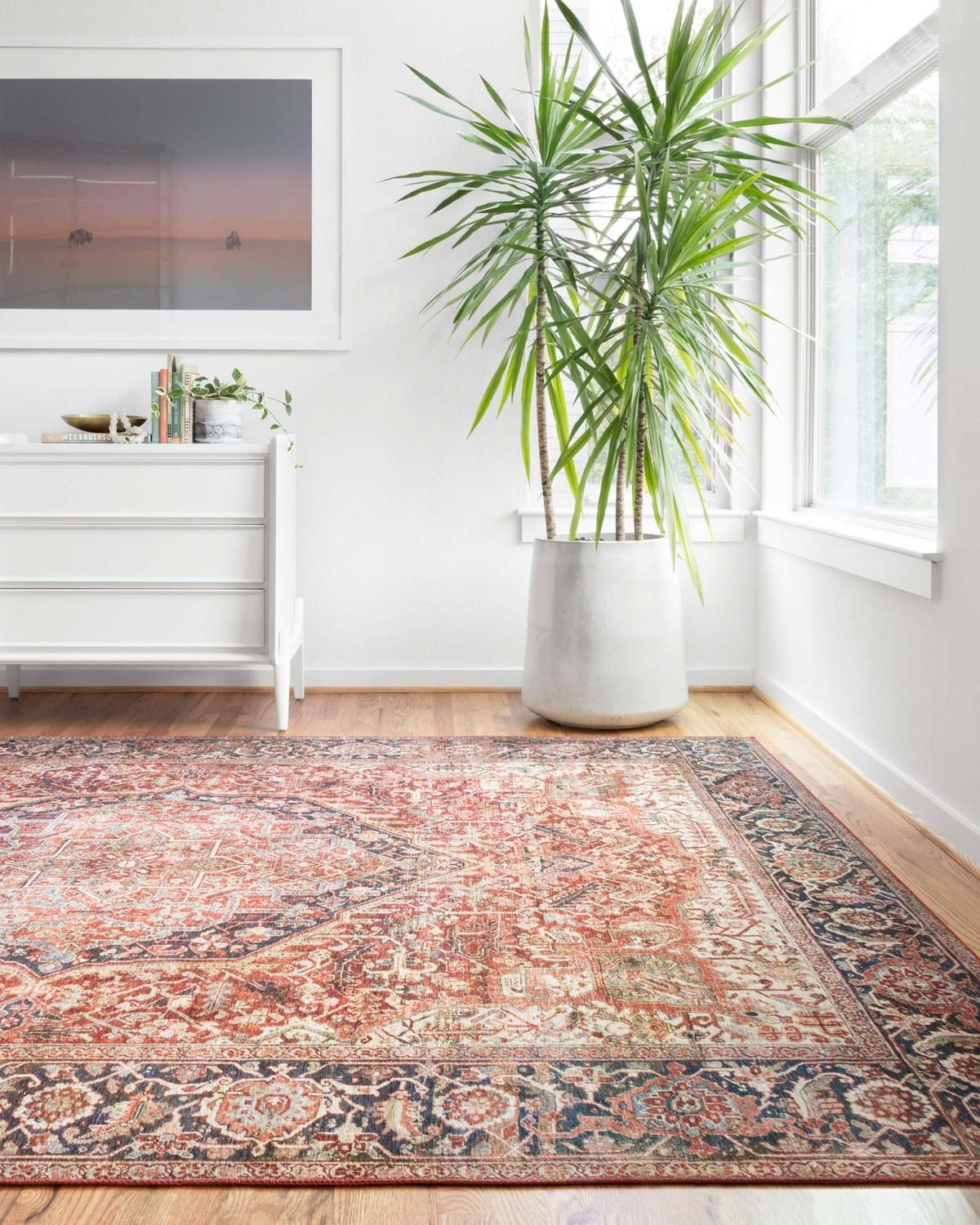 Lay 08 Red Navy Loloi Rugs Alexander Home Area Rugs Persian Area Rugs