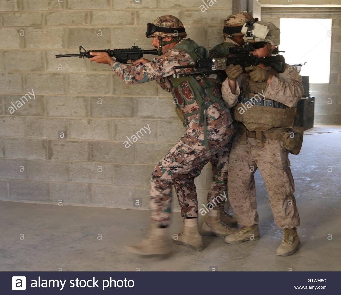 Download this stock image royal jordanian army quick