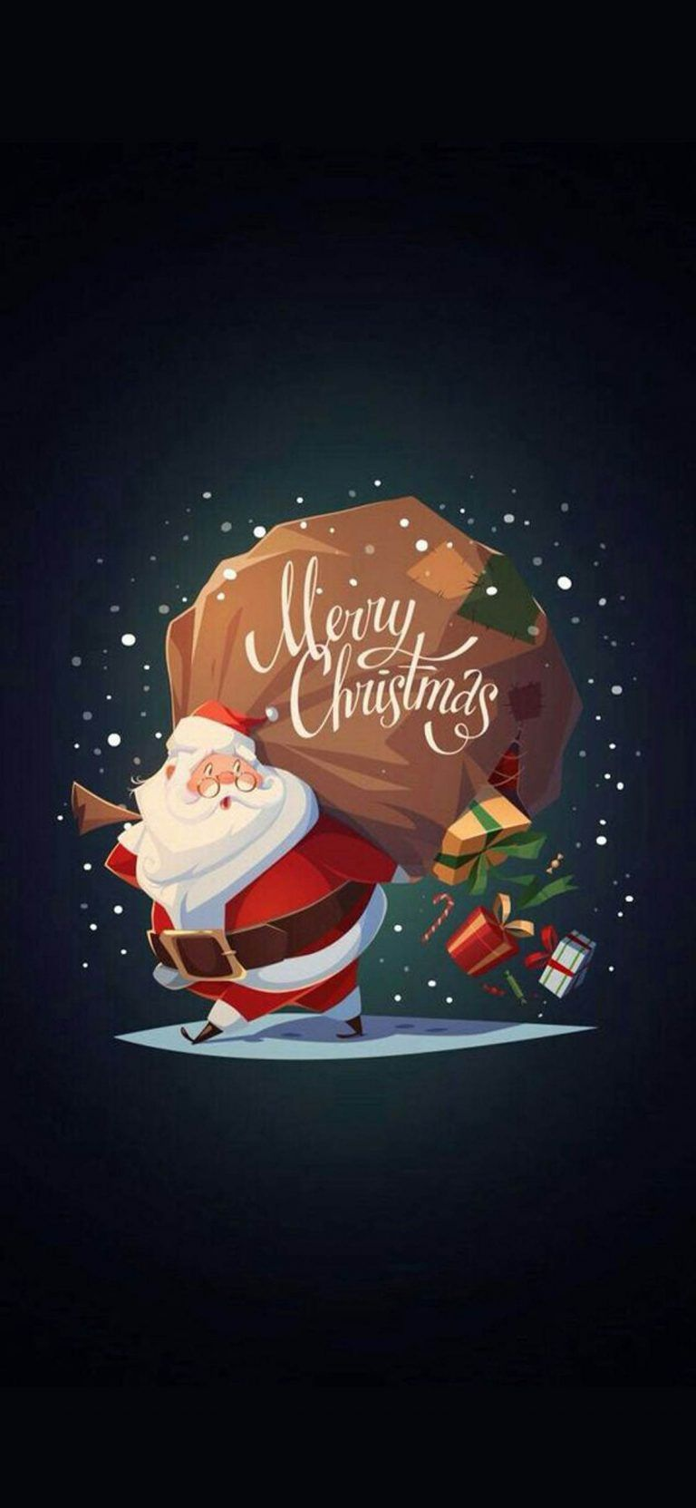 Iphone X Beautiful Wallpaper 1125 2436 Christmas Background