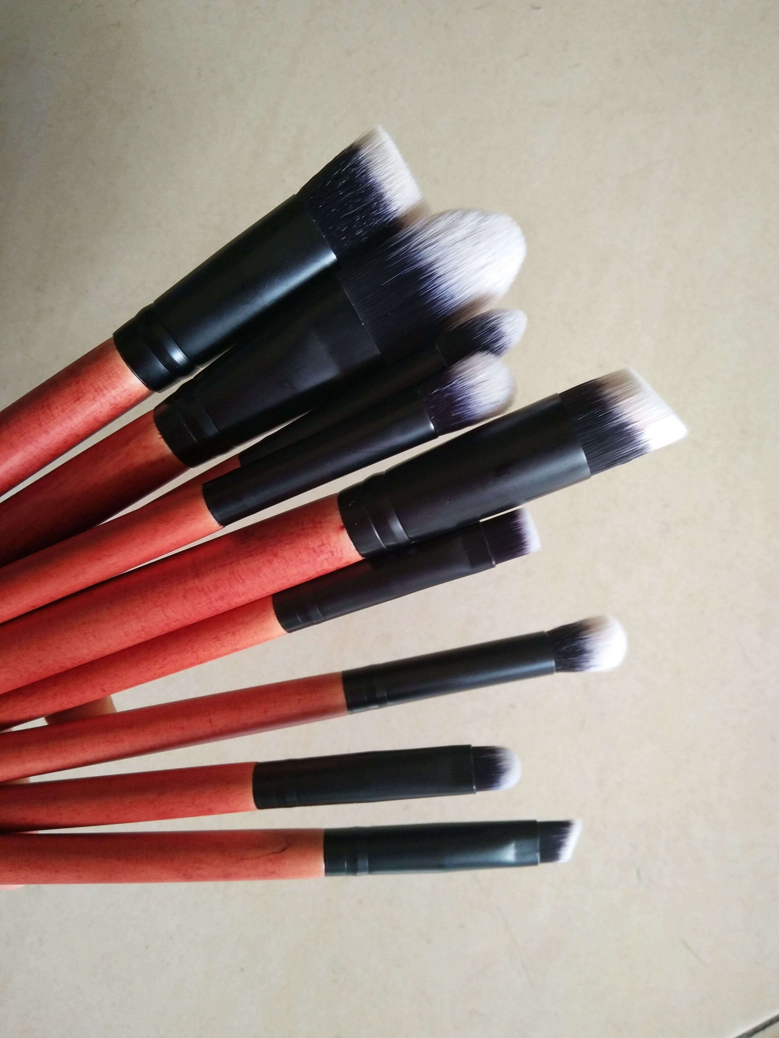 Handmade quality makeup brushes kit factory wholesale