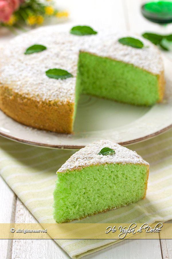 Torta alla menta soffice e veloce ricetta  Dolci  Desserts Food e Dessert recipes