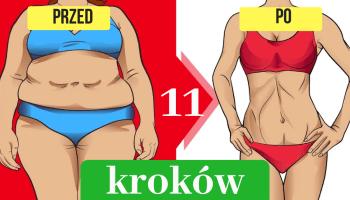Co zrobić by schudnąć z uda i brzucha