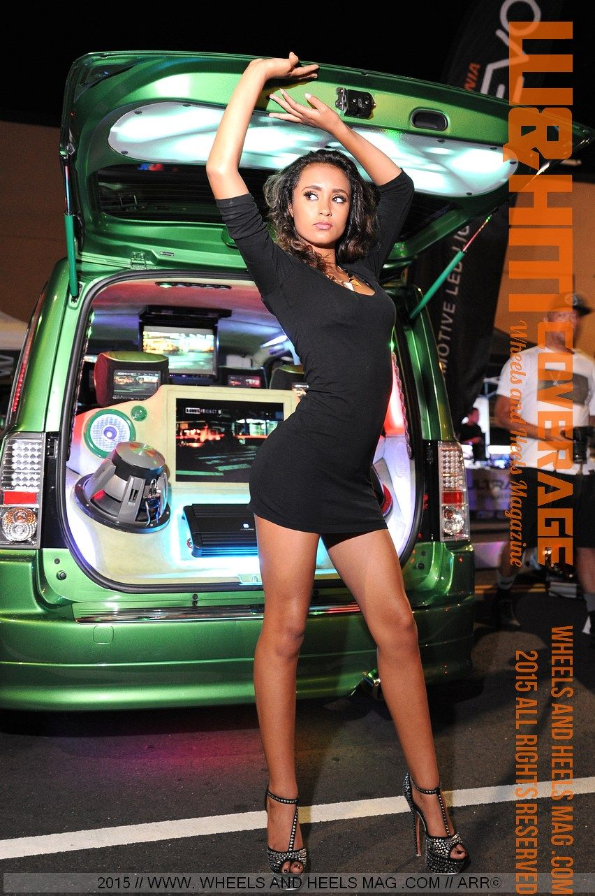 Wheels And Heels Magazine / W&HM: Sultry HIN Models Alona ...