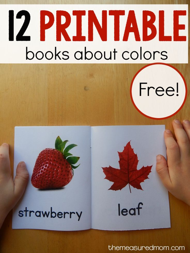 12 free color books - Color Book For Toddler