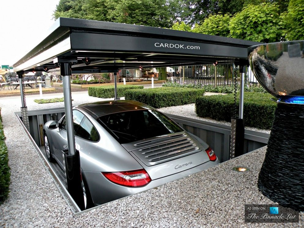 Cardok Underground Garage - The Ultimate Urban Solution for Secure