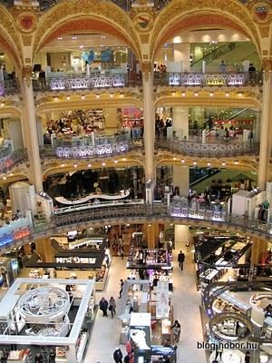 galeries lafayette paris france a shopping mall favorite places
