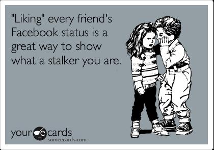 facebook status stalker