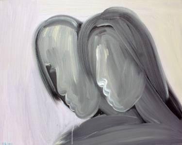 "Saatchi Art Artist kefu hu; Painting, ""How are you?"" #art"