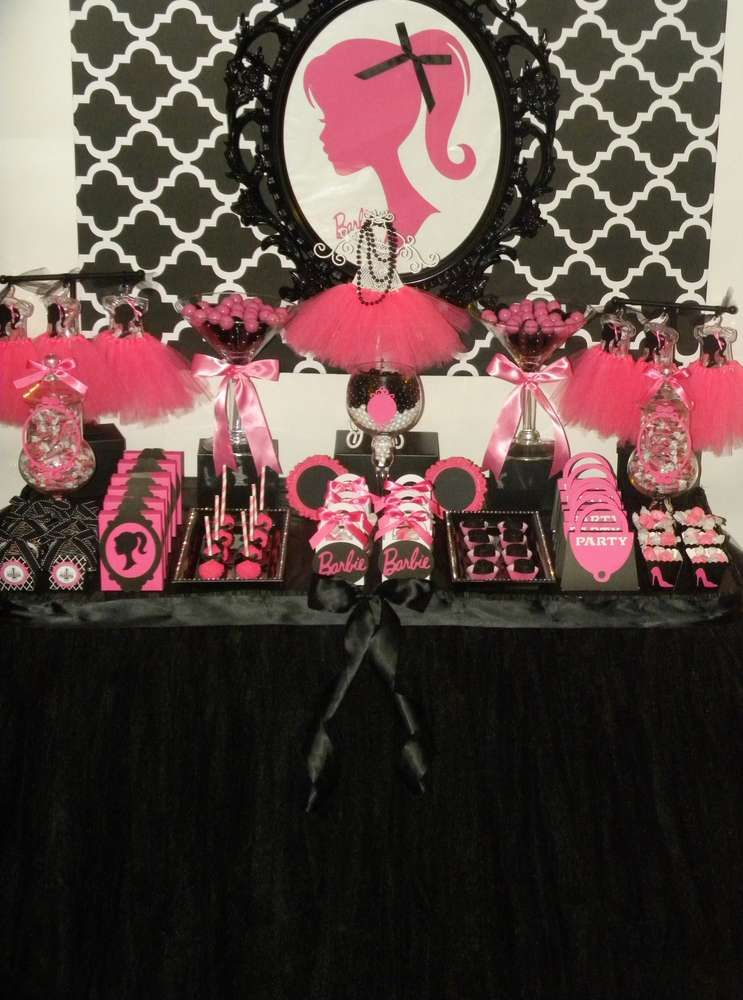 Barbie Birthday Party Ideas  Birthdays, Birthday party ideas and 1