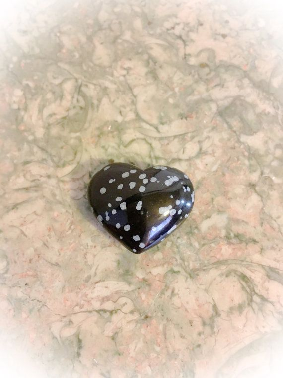 SALESALEPretty Snowflake Obsidian Puffy by WingsAndThingsbyAlex