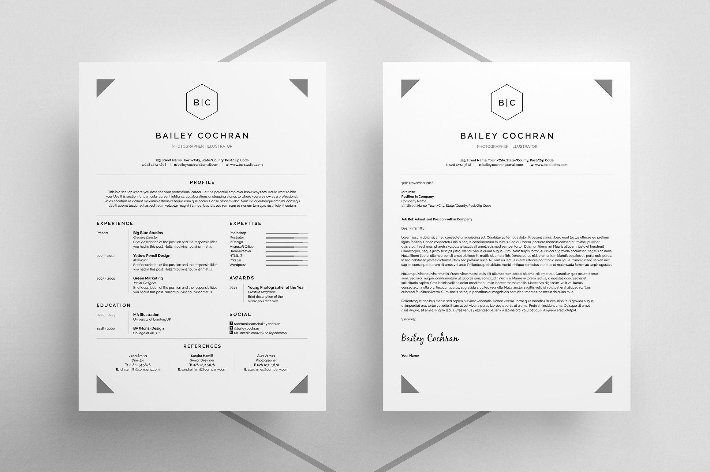 Resume/CV - Bailey   Pinterest