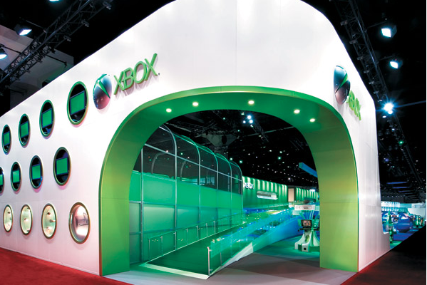Expo Exhibition Stands Xbox One : Xbox tradeshow google search tradeshow design awards booth