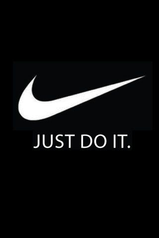 Nike Just Do It Logo Nike Just Do It Logo Iphone Wallpaper